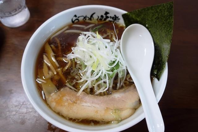 焼き醤油ラーメン(味楽).JPG